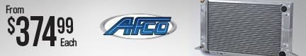 AFCO Racing Scirocco-Style Drag Racing Radiators