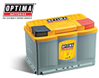 """Optima Yellow Top Batteries (include callout of """"New applications available including H6"""")"""