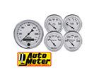 Auto Meter Old Tyme White II Analog Gauge Kits