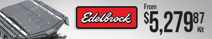 Edelbrock E-Force Mustang Supercharger Kits (Street and Track)