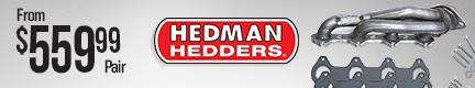 Hedman 304 Stainless Steel Headers