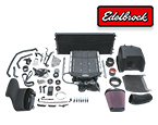 Edelbrock E-Force Stage 1 Street Legal Supercharger Kits for 2018 Ford Mustang & F-150