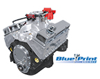 BluePrint Engines GM 383 C.I.D. 430 HP Stroker Base Fully Dressed Long Blocks w/Aluminum Heads