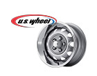 U.S. Wheel 667 Series Silver Chrysler Rallye Wheels