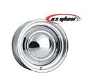 U.S. Wheel 52 Series Chrome Smoothie Wheels