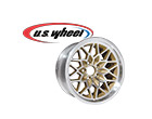 """U.S. Wheel Classic Muscle Car Snowflake Series Silver Wheels with Gold Accents, """"check out all the classic designs"""""""