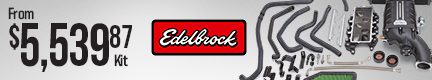Edelbrock E-Force Jeep Wrangler Supercharger Kits
