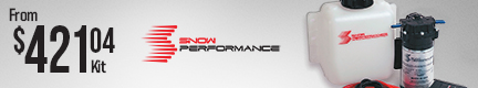 "Snow Performance Boost Cooler Stage-2 Water/Methanol Injection Systems   ""available with nylon tubing or stainless steel braided lines."""