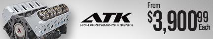 ATK High Performance Chevy LQ4 6.0L 460 HP Long Block Crate Engines