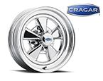 "Cragar S/S 15"" x 4.5"" Front Runner Wheel (available in both 08/61 & 61C Series, Uni-Lug and Direct Bolt)"