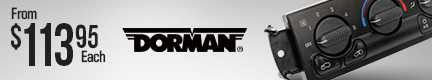 Dorman Climate Control Modules (original equipment fit and function)