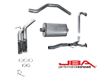 JBA Performance Exhaust 304 Stainless Steel Cat Back Exhaust System for 2004-2020 Nissan Titan (JBA-30-1403)