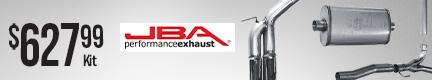 JBA Performance Exhaust 304 Stainless Steel Cat Back Exhaust System for 2004-2020 Nissan Titan (JBA-30-1403)