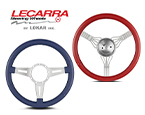Lecarra Steering Wheels (Available in 3 and 4 spoke configurations, 12 optional wrap colors)