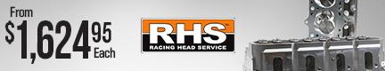 RHS Pro Elite LS3 CNC-Ported 6-Bolt Cylinder Heads
