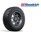 BFGoodrich All-Terrain T/A KO2 Tires (make sure we use logo with a swell)