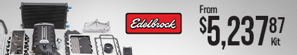 Edelbrock E-Force Jeep Wrangler Supercharger Kits
