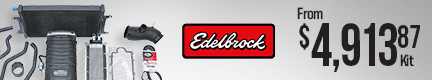 Edelbrock E-Force V6 Stage 1 Street Legal Supercharger Kits (now available for 2021 Colorado/Camaro/and Canyon)