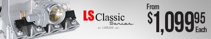 LS Classic Series Intake Manifold Systems