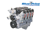 BluePrint Engines Pro Series Chevy LS 376 C.I.D. 530HP EFI Retrofit Dressed Long Block Crate Engines