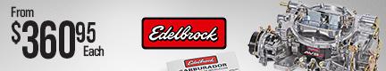 Edelbrock AVS2 Series Carburetors (800 cfm)