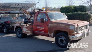 Square Body Tow Truck