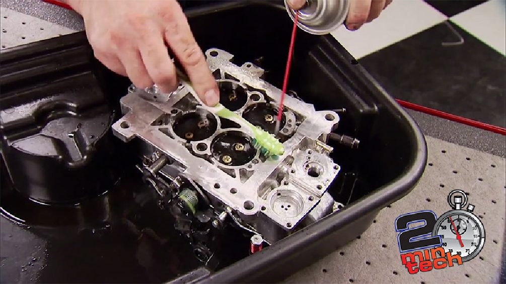 Two Minute Tech: How To Clean A Carburetor