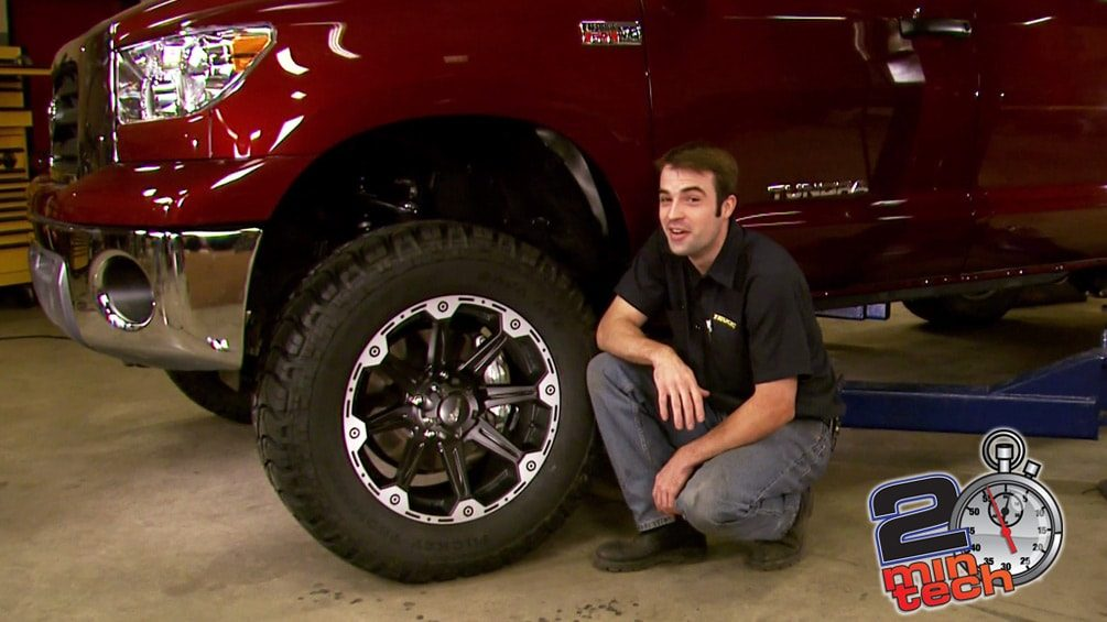 "Lift A Toyota Tundra With A 6"" Skyjacker Kit Part 3"