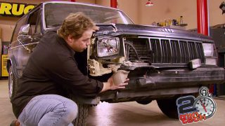 Diagnose & Straighten A Jeep's Bent Frame Part 1