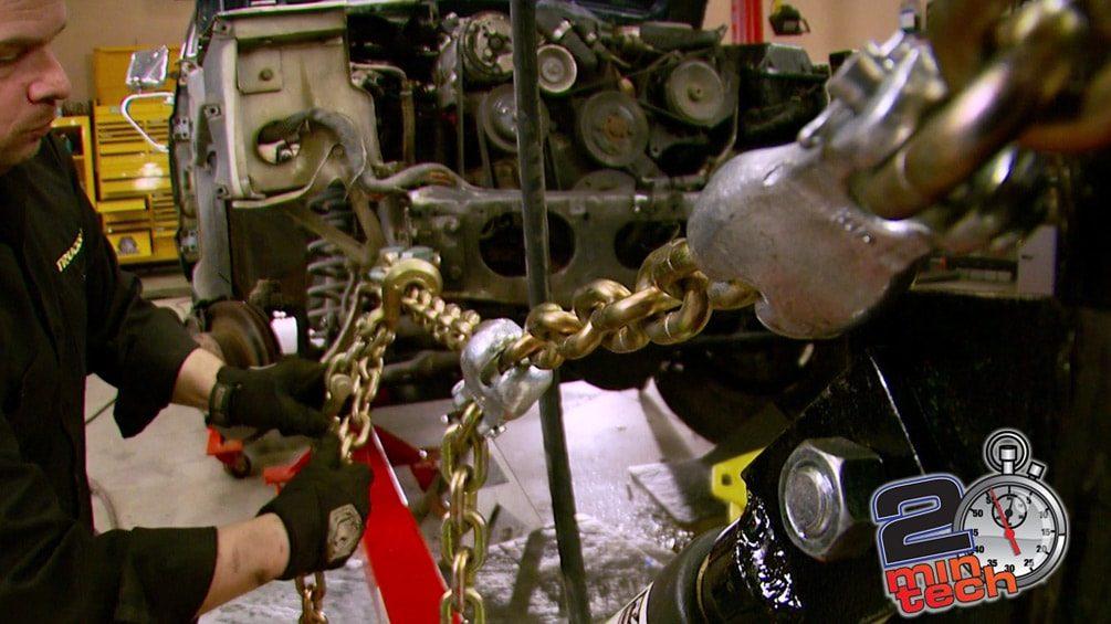 Diagnose & Straighten A Jeep's Bent Frame Part 2