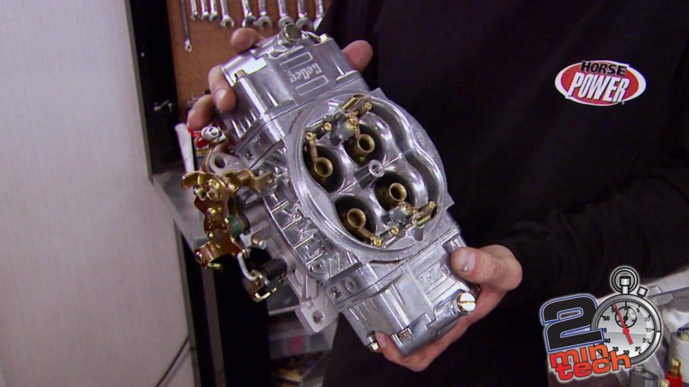 Install A Carb ConversionKit On An LS V8 Part 1