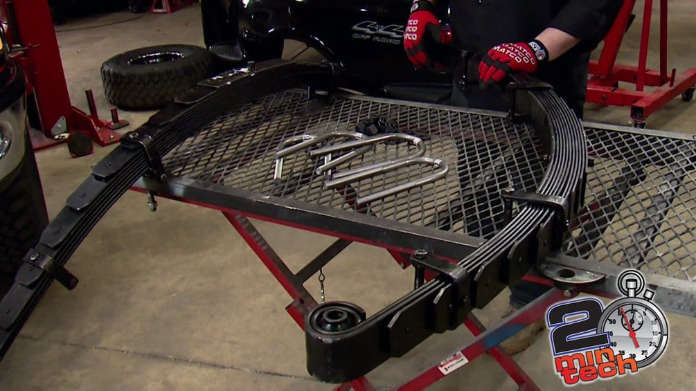 How to Install Better Leaf Springs on a Ford F-150