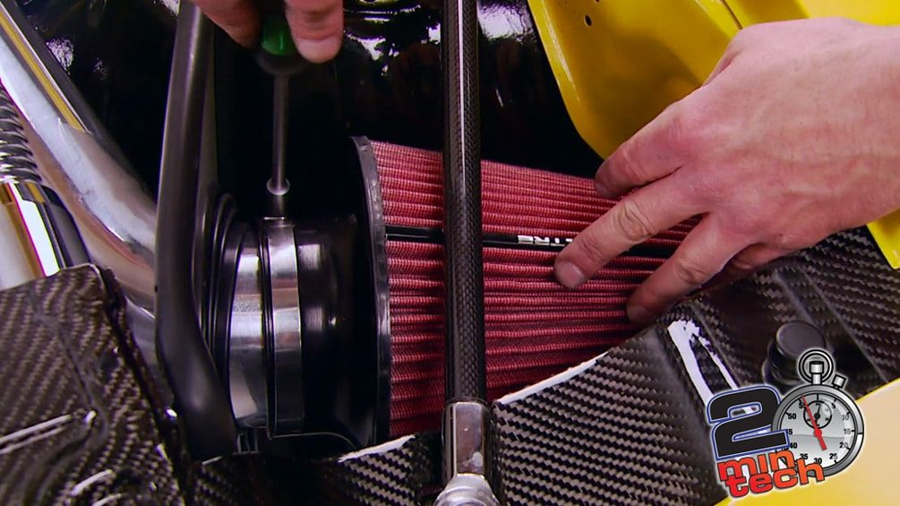 Install a Muscle Car Cold Air Intake