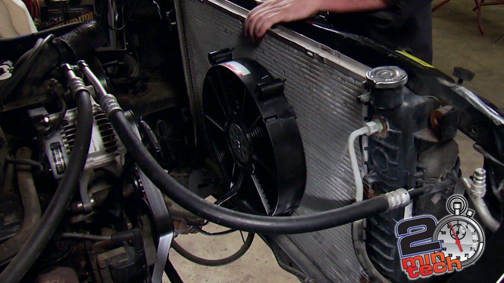 Wire an Electric Fan