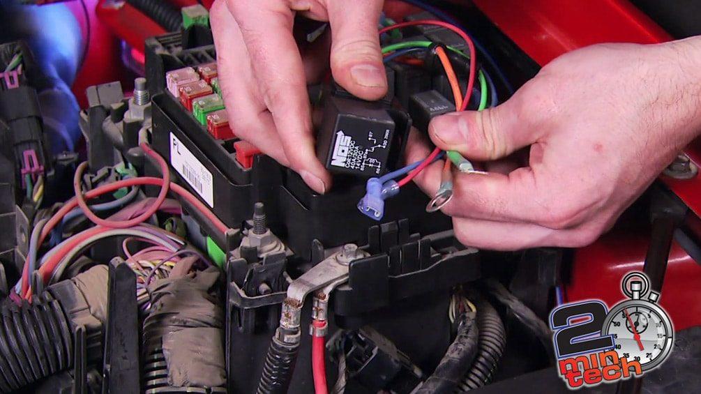 Nitrous Electrical Hook Up