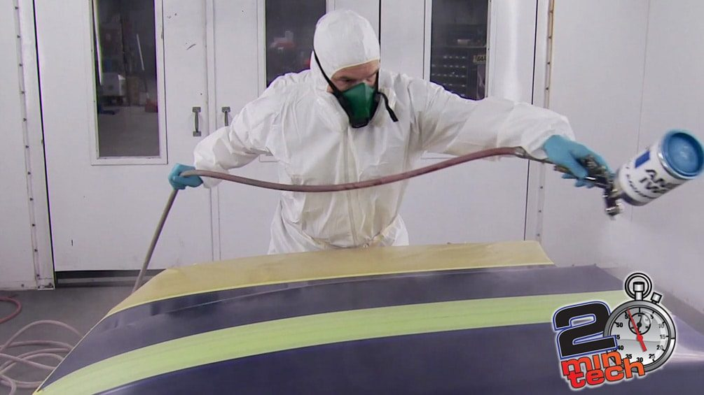 How to Lay Down Clear Coat Stripes