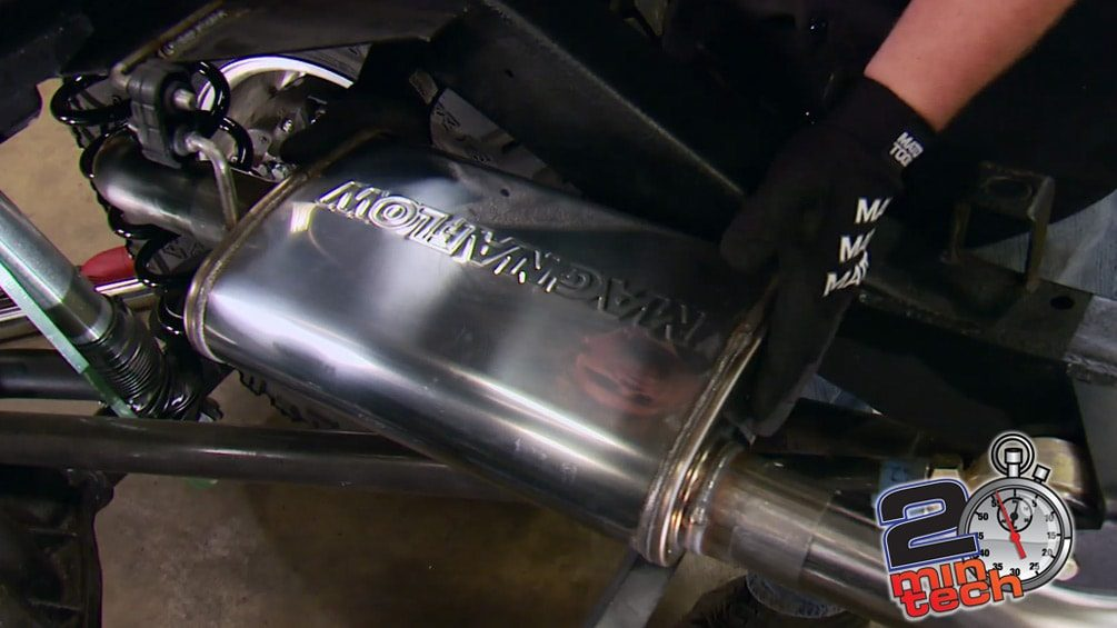 Build A Custom Exhaust For a 4x4