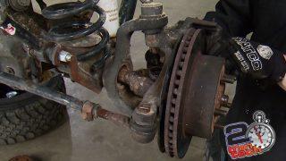Trail Fix - Broken Axle Joint