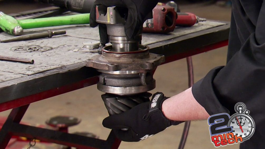 Gear Set-Up for Bomb-Proof Axles
