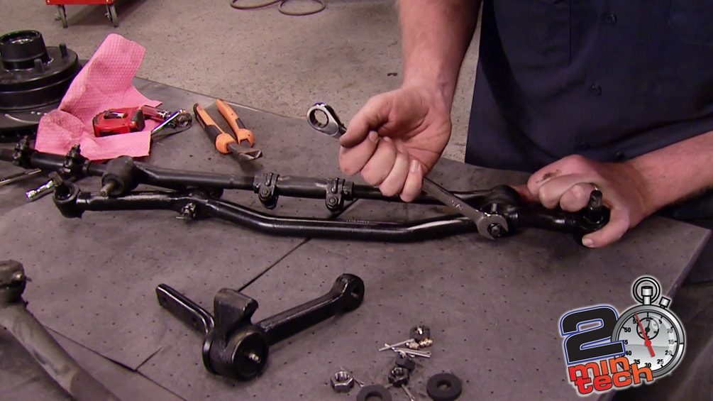 Rebuild A Front End: Idler Arms, Ball Joints, & A-Arms Part 2