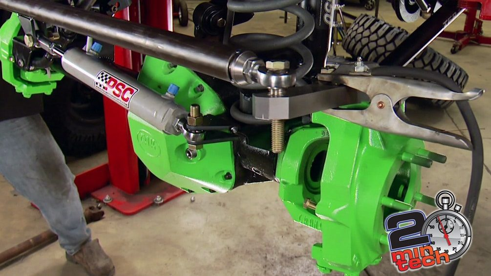 Upgrade Your Steering With Hydraulic Ram Assist