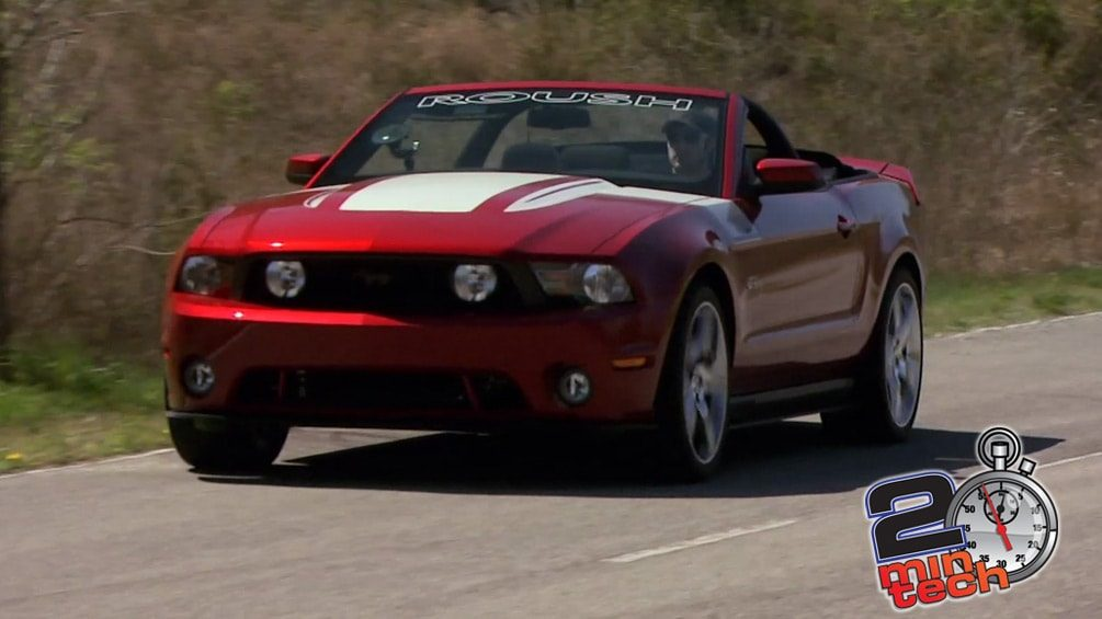 Upgrade to A Roush Mustang Supercharger Part 3