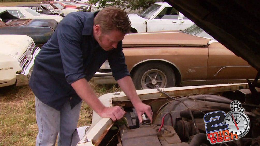 Test A Junkyard Motor