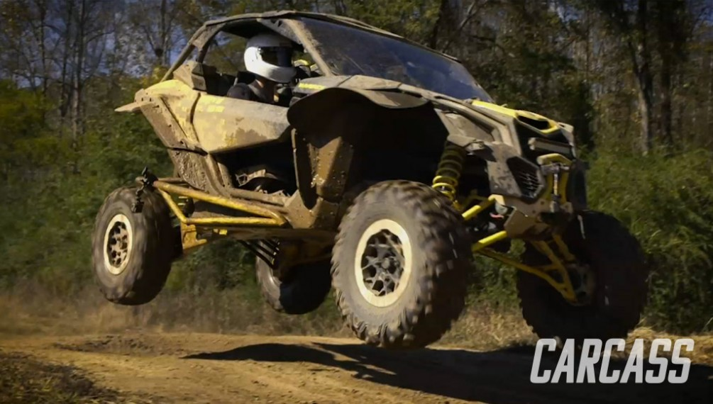 Building a Baja Style Bug With a VW Beetle and A Stock Can-Am Maverick X3