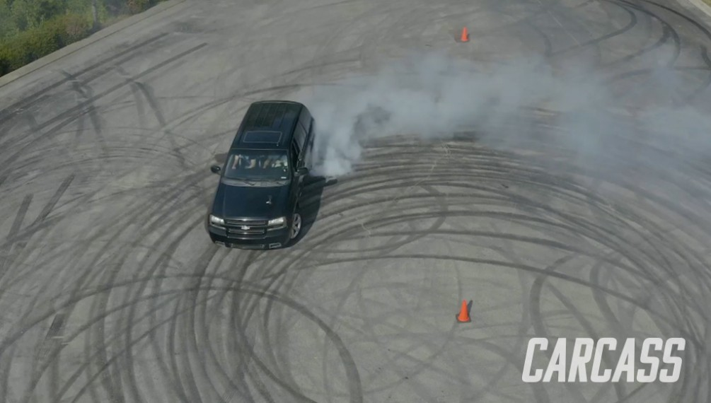 Drifting Trailblazer