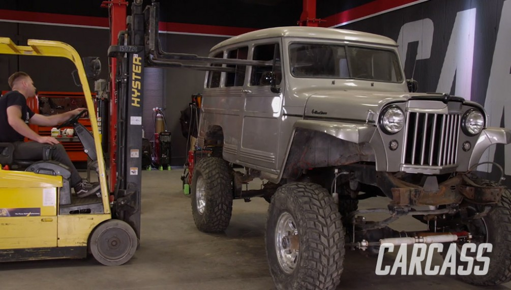 Chevy M1010 is Transformed Into Willy's Wagon