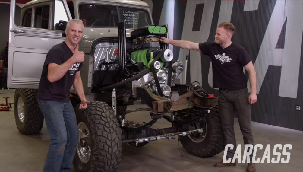 Chevy M1010 Gets Extra Power and Huge Tires for the Ultimate Mud Adventure