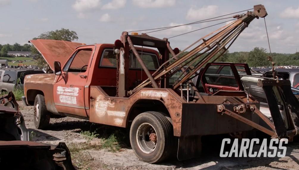 Junkyard Tow Truck