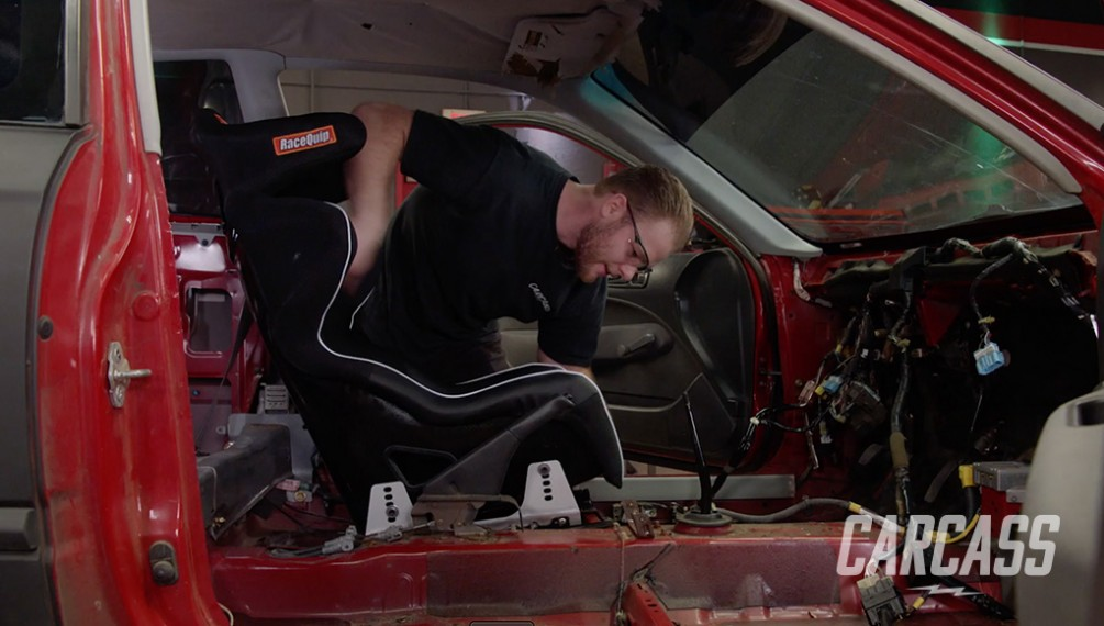 Honda Civic Rally Ripper Gets Safety & Seat Upgrades