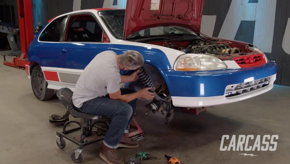 Better Handling Suspension Honda Rally Car Workout